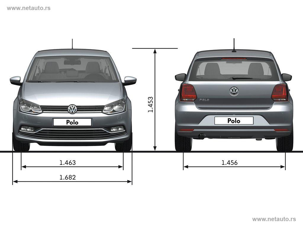 Volkswagen Polo - dimenzije